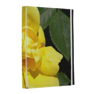 Coque ipad de rose jaune