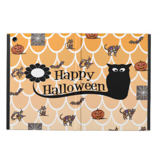 Coque ipad d'emoji de Halloween