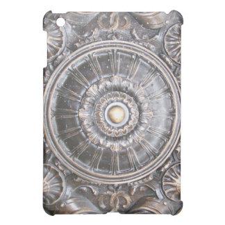 Coque ipad en bronze gothique de médaillon de trav