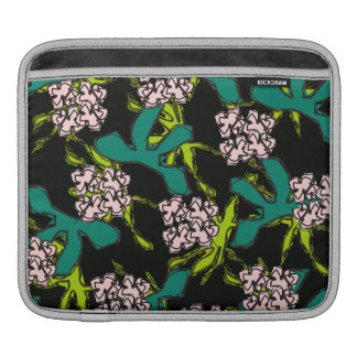 Coque ipad floral poches pour iPad