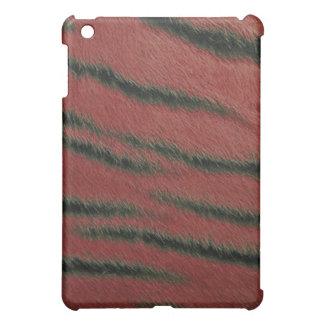 coque ipad - fourrure de tigre - écarlate