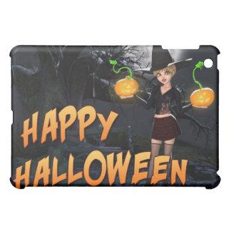 Coque ipad heureux de Halloween Skye