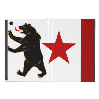 Coque ipad historique de drapeau de la Californie