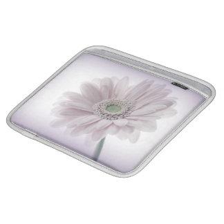 Coque ipad lilas pâle de tournesol poches iPad