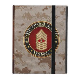 Coque iPad Marines des USA : Sergent d'artillerie principal