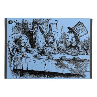 Coque iPad Mini 4 Alice vintage au thé du pays des merveilles