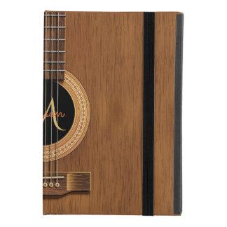 Coque iPad Mini 4 Guitare acoustique en bois chaude
