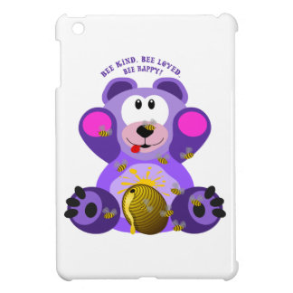 Coque iPad Mini Abeille aimée par abeille aimable d'abeille d'ours