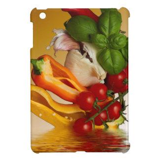 Coque iPad Mini Ail de tomates de Basil de poivrons