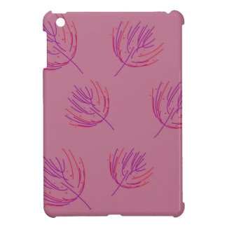 Coque iPad Mini Algues roses
