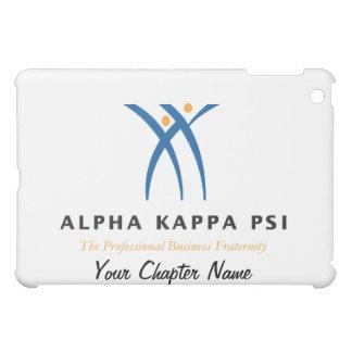 Coque iPad Mini Alpha nom et logo de livre par pouce carré de