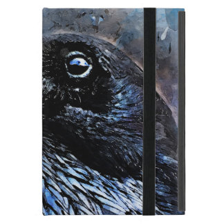 Coque iPad Mini #animals de #bird de #crow d'art de corneille
