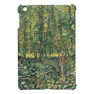 Coque iPad Mini Arbres de Vincent van Gogh | et broussaille, 1887