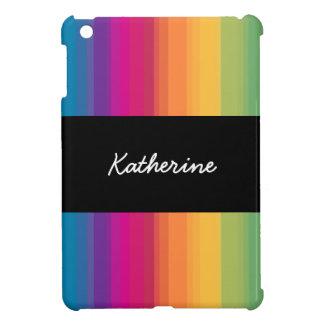 Coque iPad Mini Arc-en-ciel coloré de gradient moderne élégant