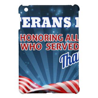 Coque iPad Mini Arrière - plan de drapeau américain de jour de