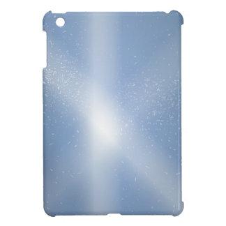 Coque iPad Mini Arrière - plan de neige de ciel bleu