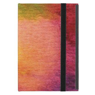Coque iPad Mini Arrière - plan peint par aquarelle abstraite