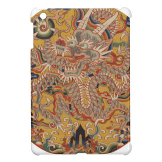 Coque iPad Mini Art chinois asiatique impérial de dragon de Ming