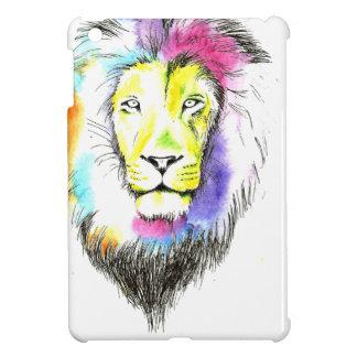 Coque iPad Mini art de lion