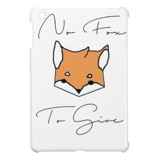 Coque iPad Mini Aucun Fox à donner