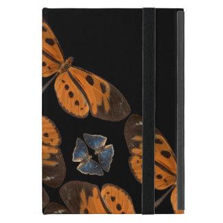 Coque iPad Mini Belle caisse bleue et orange de comprimé de