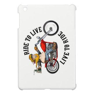Coque iPad Mini biker motard ride to live