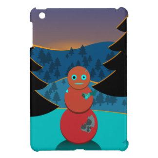 Coque iPad Mini Bonhomme de neige de Robo