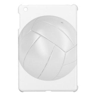 Coque iPad Mini Boule blanche de volleyball