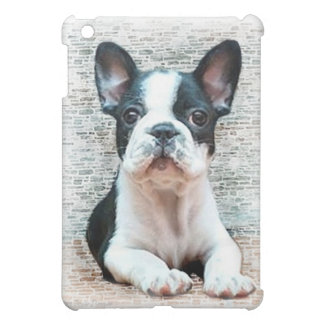 Coque iPad Mini Caisse de point d'ipad de chiot de bouledogue