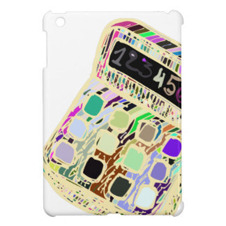 Coque iPad Mini calculatrice colorée
