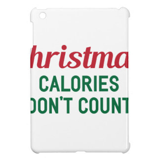 Coque iPad Mini Calories de Noël