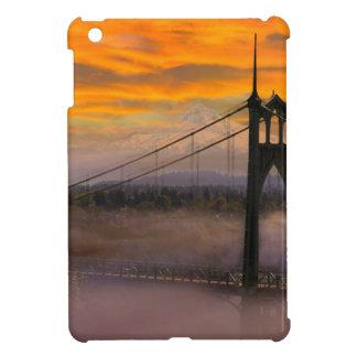 Coque iPad Mini Capot de bâti par le pont de St Johns pendant le