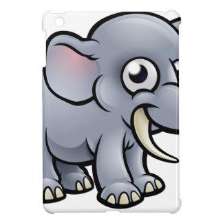 Coque iPad Mini Caractère d'éléphant de bande dessinée
