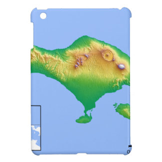 Coque iPad Mini Carte de Bali