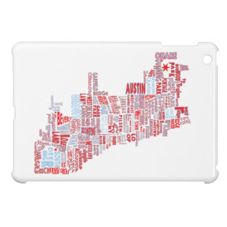 Coque iPad Mini Carte de voisinage de Chicago