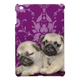 Coque iPad Mini Cas d'ipad de chien de chiots de carlin mini