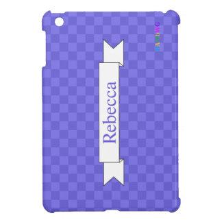 Coque iPad Mini Cas dur brillant d'iPad de HAMbyWG mini - lavande