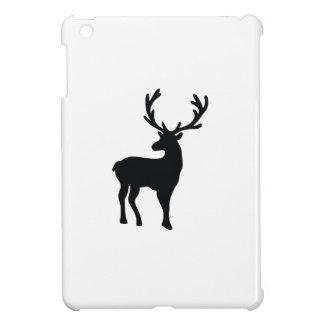 Coque iPad Mini Cerfs communs noirs et blancs