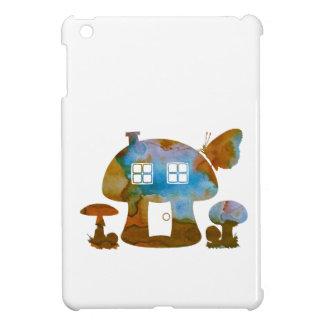 Coque iPad Mini Chambre de champignon