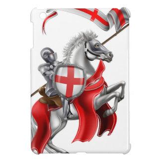 Coque iPad Mini Chevalier médiéval de St George sur le cheval