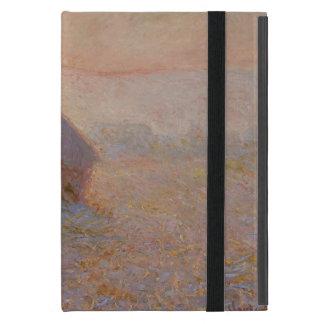 Coque iPad Mini Claude Monet | Grainstack, Sun dans la brume
