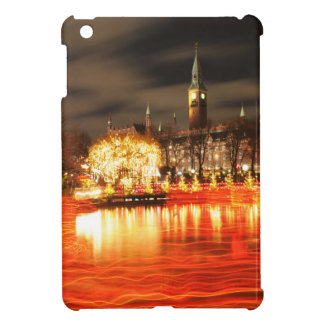 Coque iPad Mini Copenhague, Danemark à Noël