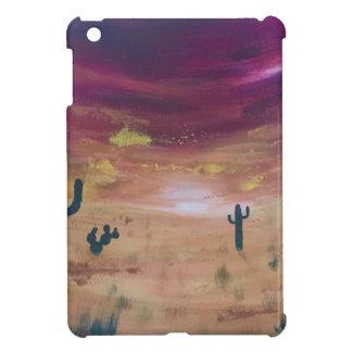 Coque iPad Mini Coucher du soleil de désert