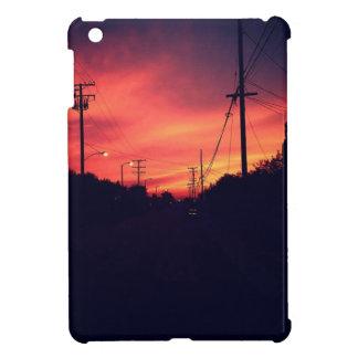 Coque iPad Mini Coucher du soleil foncé