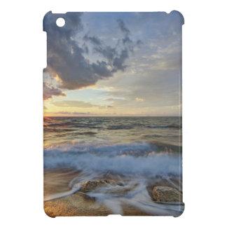 Coque iPad Mini Coucher du soleil stupéfiant