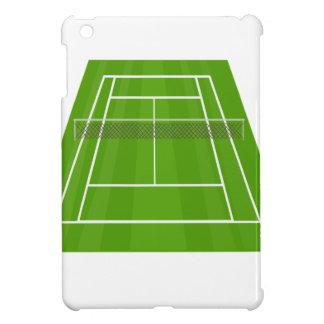 Coque iPad Mini Court de tennis