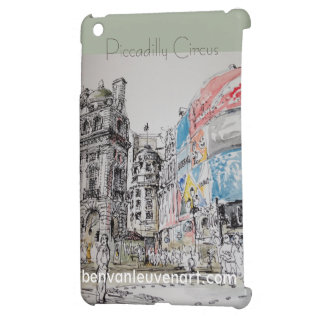 Coque iPad Mini Couverture Piccadilly Circus