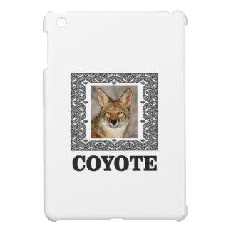 Coque iPad Mini coyote dans une boîte
