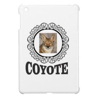Coque iPad Mini coyote rond