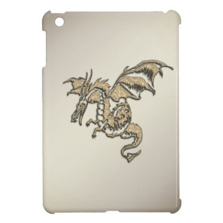 Coque iPad Mini Dragon d'or